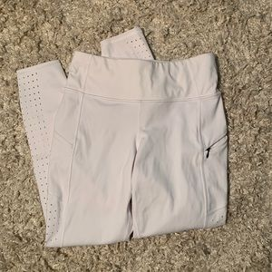 White athleta leggings